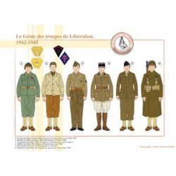 Die französischen Ingenieure der Befreiungstruppen, 1942-1945
