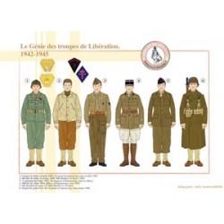 Le Génie des troupes de Libération, 1942-1945