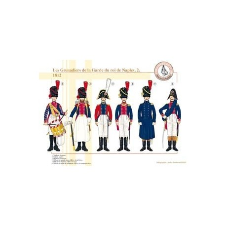 Les Grenadiers de la Garde du roi de Naples (2), 1812