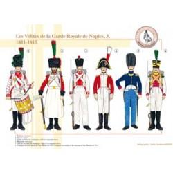 Die Velites der königlichen Garde von Neapel (3), 1811-1815