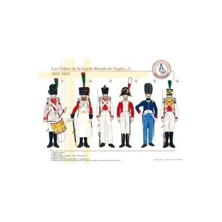 Les Vélites de la Garde Royale de Naples (3), 1811-1815