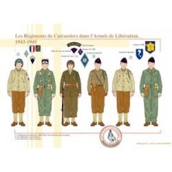 Les Régiments de Cuirassiers dans l'Armée de Libération, 1943-1945