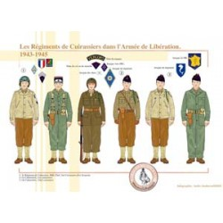 The French Cuirassier Regiments in the Liberation Army, 1943-1945