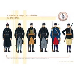 The Belgian Infantry. The transition. End of 1914-1915