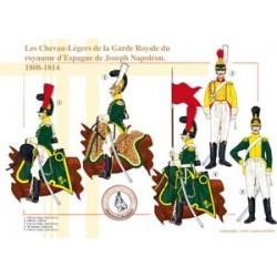 Die Chevau-Légers der königlichen Garde des Königreichs Spanien von Joseph Napoléon, 1808-1814