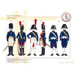 Die französischen Carabiniers, 1804-1810