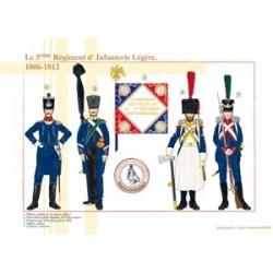 Le 5ème Régiment d'Infanterie Légère, 1806-1812