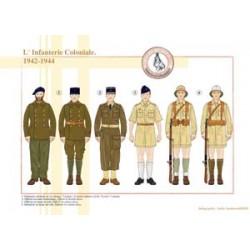 Die französische Kolonialinfanterie, 1942-1944
