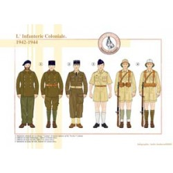 The French Colonial Infantry, 1942-1944