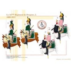 Das 16. französische Drachenregiment (2), 1808-1812