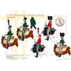 The 26th French Chasseurs à Cheval Regiment, 1808-1812