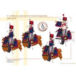 Die berittene Artillerie der französischen kaiserlichen Garde, 1854-1870