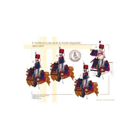 L'Artillerie à cheval de la Garde Impériale, 1854-1870