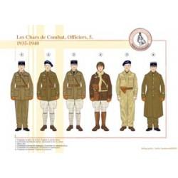 Französische Kampftanks, Offiziere (5), 1935-1940