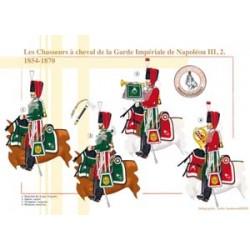 Les Chasseurs à cheval de la Garde Impériale de Napoléon III (2), 1854-1870