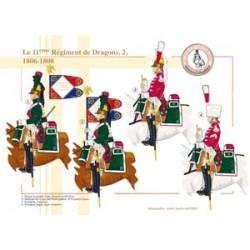 Le 11e Régiment de Dragons (2), 1806-1808