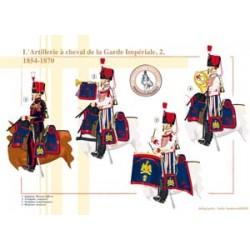 Die berittene Artillerie der französischen kaiserlichen Garde (2), 1854-1870