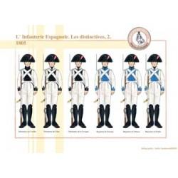 Die spanische Infanterie, die unverwechselbare (2), 1805