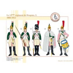 Le 13e Régiment de Dragons (2), 1806-1812