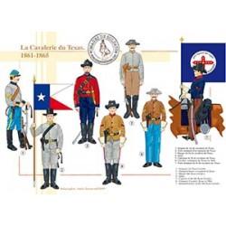 La Cavalerie du Texas, 1861-1865
