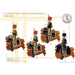 The mounted artillery of the French Imperial Guard (3), 1854-1870