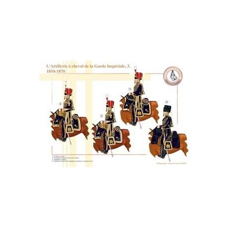 L'Artillerie à cheval de la Garde Impériale (3), 1854-1870