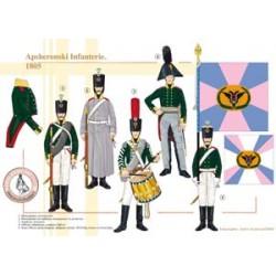 Apsheronski Infanterie, 1805