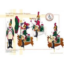 Das 10. französische Drachenregiment, 1806-1812