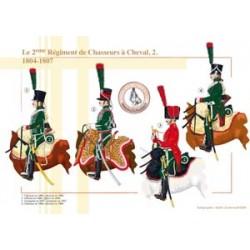 Die 2. französischen Chasseurs à Cheval Regiment (2), 1804-1807