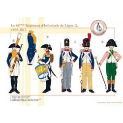 The 88th French Line Infantry Regiment (2), 1805-1812