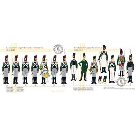 L'Infanterie Légère Bavaroise, 1810-1815
