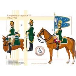 Languedoc dragons n°22, 1786-1791