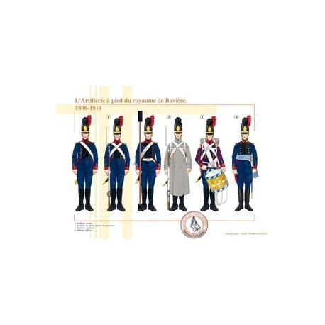 The Foot Artillery of the Kingdom of Bavaria, 1806-1814