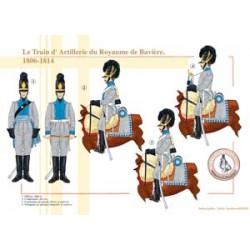 Le Train d'Artillerie du Royaume de Bavière, 1806-1814