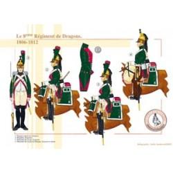 Das 8. französische Drachenregiment, 1806-1812