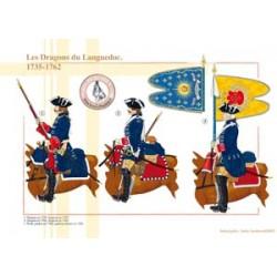 Les Dragons du Languedoc, 1735-1762