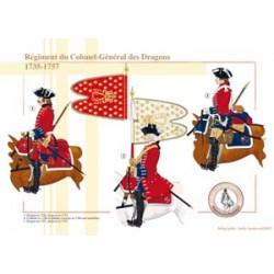Regiment des Generalobersten der Drachen, 1735-1757