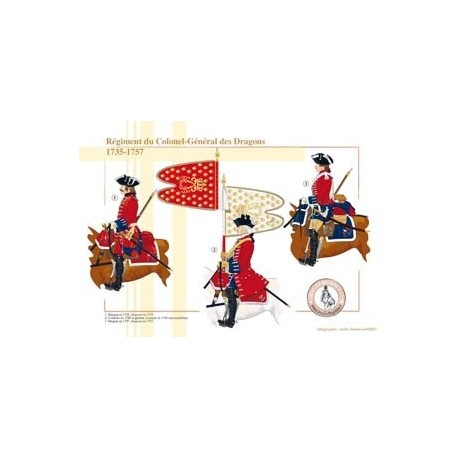 Regiment of the Colonel-General Dragons, 1735-1757