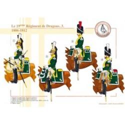 Das 19. französische Drachenregiment (3), 1806-1812