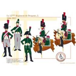 Das 12. französische Drachenregiment (2), 1806-1812