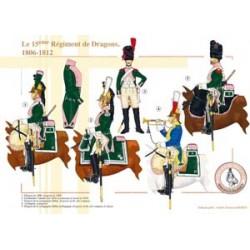 Das 15. französische Drachenregiment, 1806-1812
