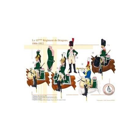 Le 15ème Régiment de Dragons, 1806-1812