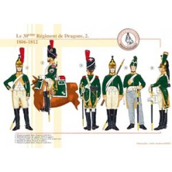The 30th French Dragon Regiment (2), 1806-1812