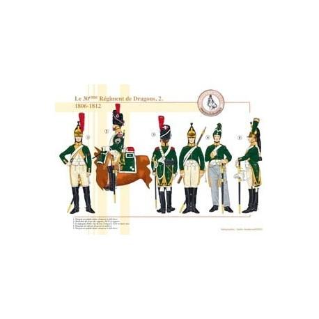 Le 30ème Régiment de Dragons (2), 1806-1812