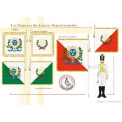 The Flags of the French Departmental Legions, 1816