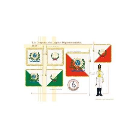 Les Drapeaux des Légions Départementales, 1816