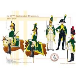 Le 19ème Régiment de Dragons (3), 1804-1810