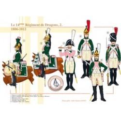 Das 14. französische Drachenregiment (2), 1806-1812