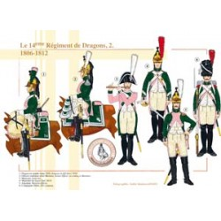 The 14th French Dragon Regiment (2), 1806-1812