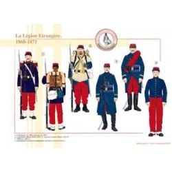 Die fremde Legion, 1868-1871